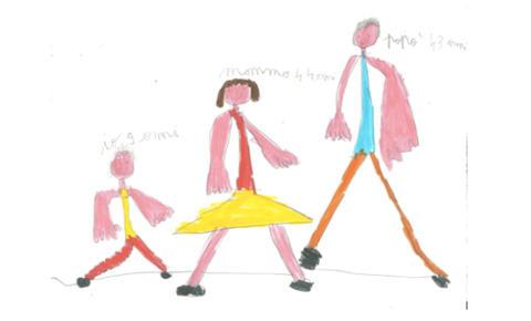 I Test Carta E Matita Disegna Una Famiglia Arigrafmediterraneo
